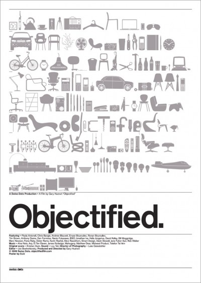 Objectified Movie Poster Letterpress Version