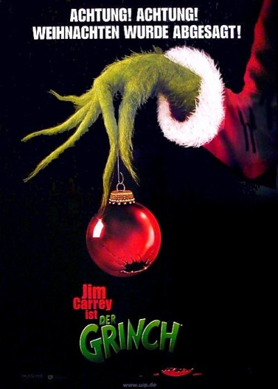 Movie Poster (Teaser) How The Grinch Stole Christmas