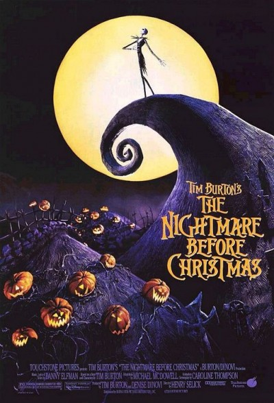 Movie Poster Nightmare Before Christmas
